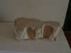 Fragment of molding