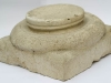 Base of a column of a biphora